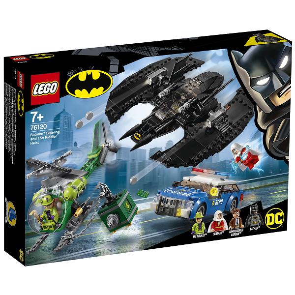 Image of Batman: Batvingen og Gækkerens kup - 76120 - LEGO Super Heroes (76120)