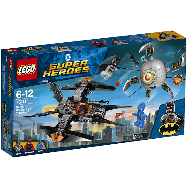 Image of Batman: Brother Eye Takedown - 76111 - LEGO Super Heroes (76111)