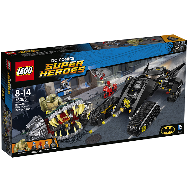 Image of Batman: Killer Croc - kampen i kloakken - 76055 - LEGO Super Heroes (76055)