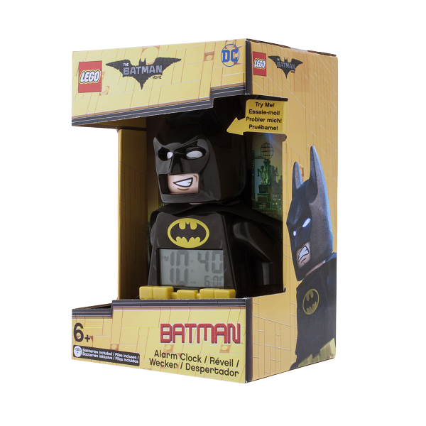 LEGO Batman Movie Batman minifigur-vækkeur - LEGO Watch