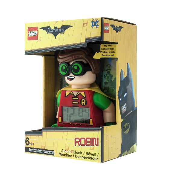 LEGO Batman Movie Robin minifigur-vækkeur - LEGO Watch