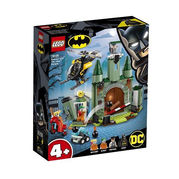 Image of   Batman og Jokerens flugt - 76138 - LEGO Super Heroes