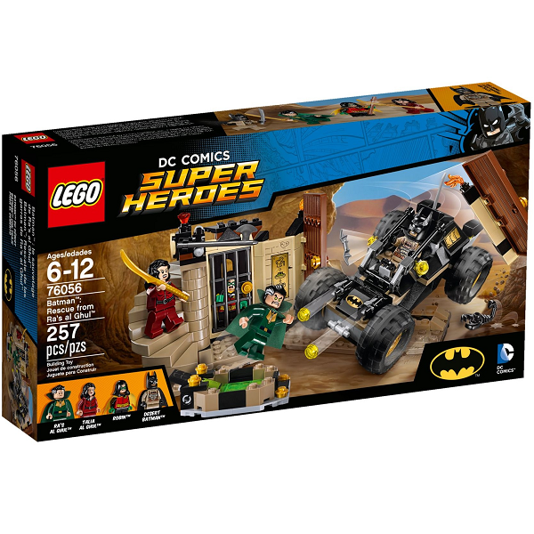 Image of Batman: Redning fra Ras al Ghul - 76056 - LEGO Super Heroes (76056)