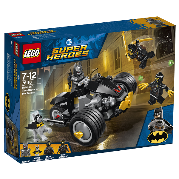 Image of Batman: The Attack of the Talons - 76110 - LEGO Super Heroes (76110)