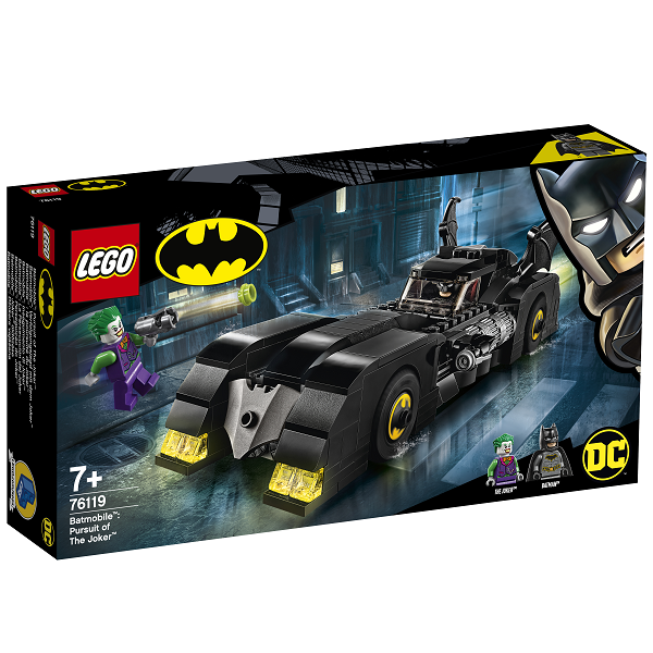 Image of   Batmobile: Jagten på Jokeren - 76119 - LEGO Super Heroes