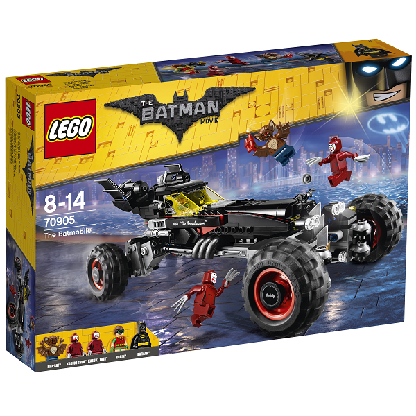 Batmobilen - 70905 - LEGO Batman Movie