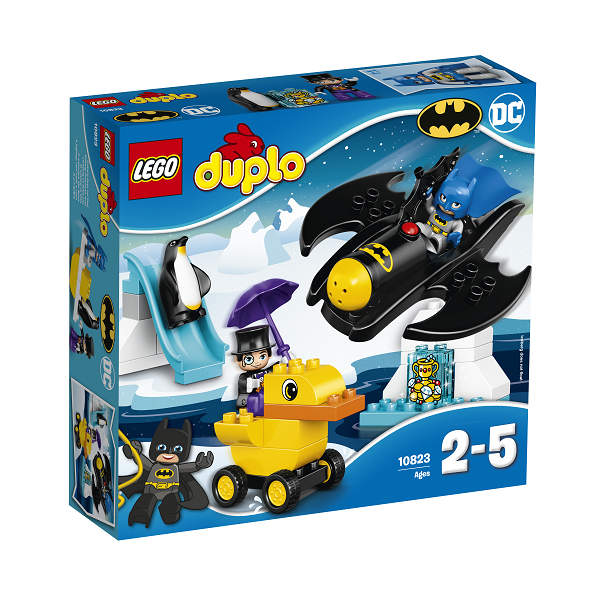 Image of   Batwing-eventyr - 10823 - LEGO DUPLO