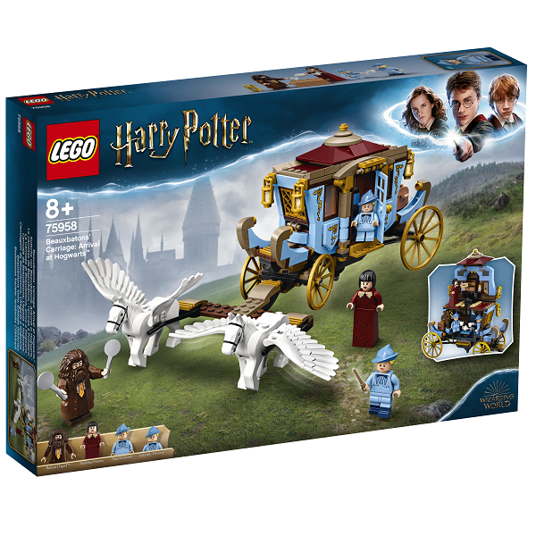 Image of Beauxbatons karet: Ankomst til Hogwarts - 75958 - LEGO Harry Potter (75958)