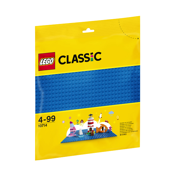 Image of Blå byggeplade - 10714 - LEGO Bricks & More (10714)