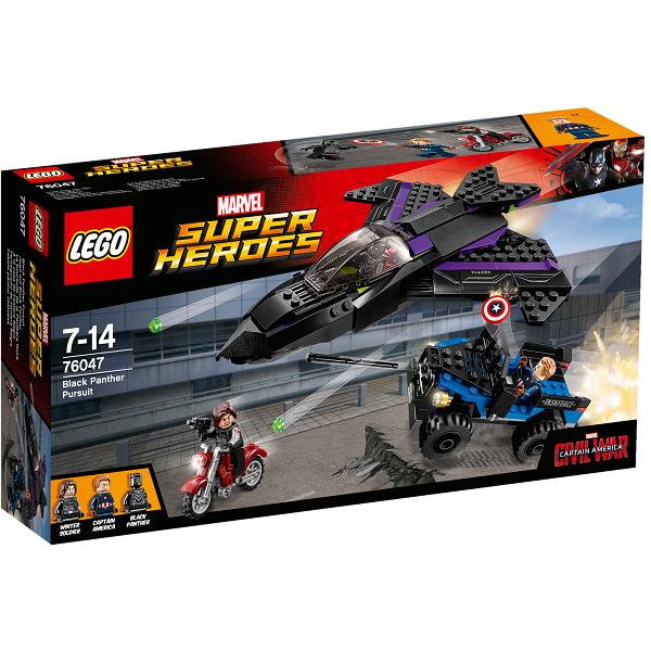 Image of   Black Panther på jagt - 76047 - LEGO Super Heroes