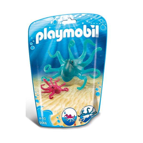 Image of   Blæksprutte med unge - PL9066 - PLAYMOBIL Family Fun