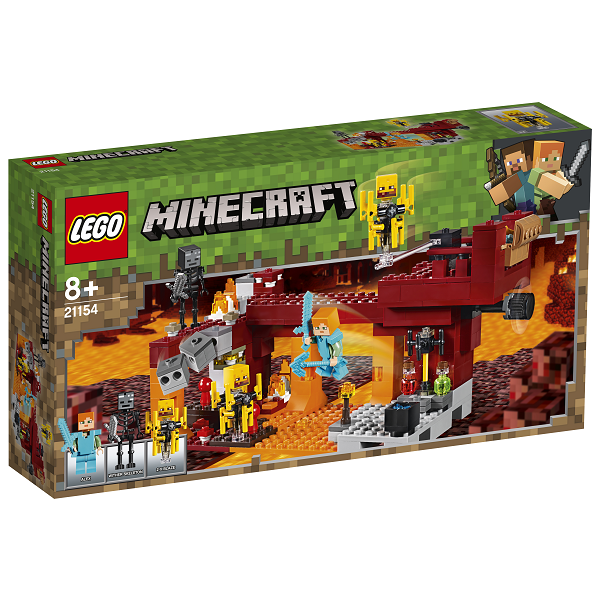 Image of Blaze-broen - 21154 - LEGO Minecraft (21154)
