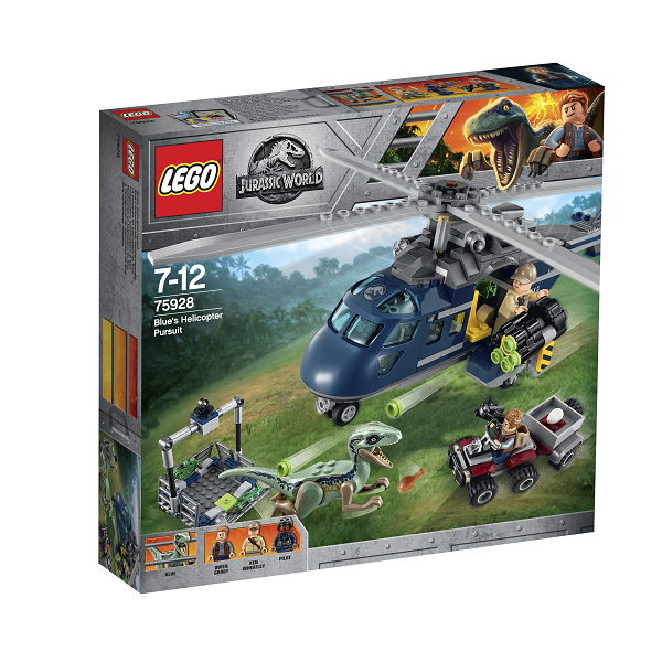 Image of Blues helikopterjagt - 75928 - LEGO Jurassic World (75928)