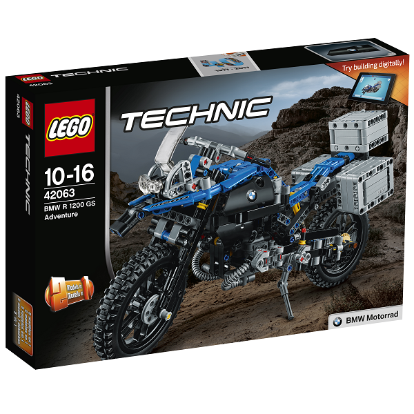 Image of BMW R 1200 GS Adventure - 42063 - LEGO Technic (42063)