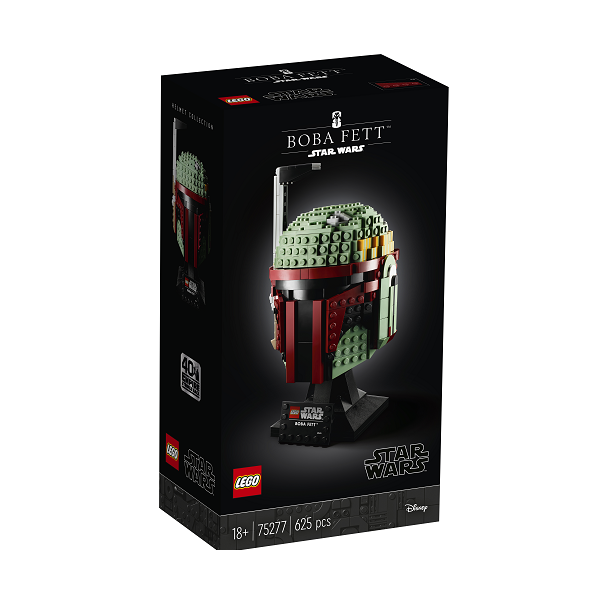Image of   Boba Fett Helmet - 75277 - LEGO Star Wars
