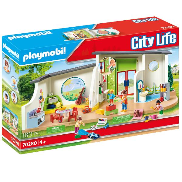 "Image of Børnehaven ""Regnbue"" - PL70280 - PLAYMOBIL City Life (PL70280)"
