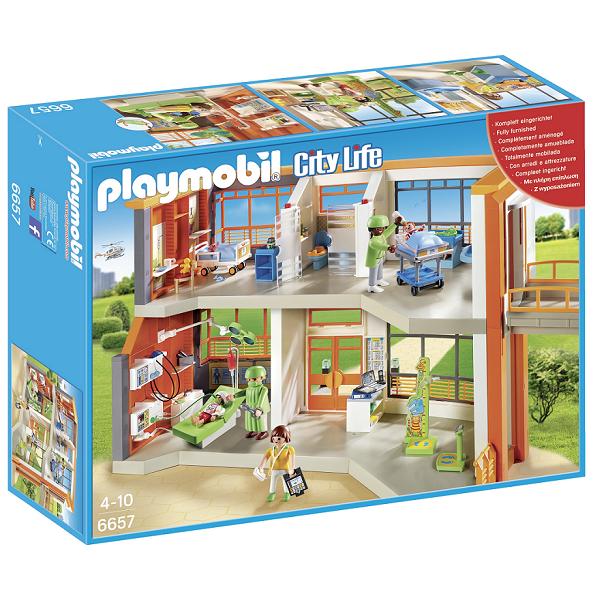 Image of Børneklinik med udstyr - PL6657 - PLAYMOBIL City Life (PL6657)