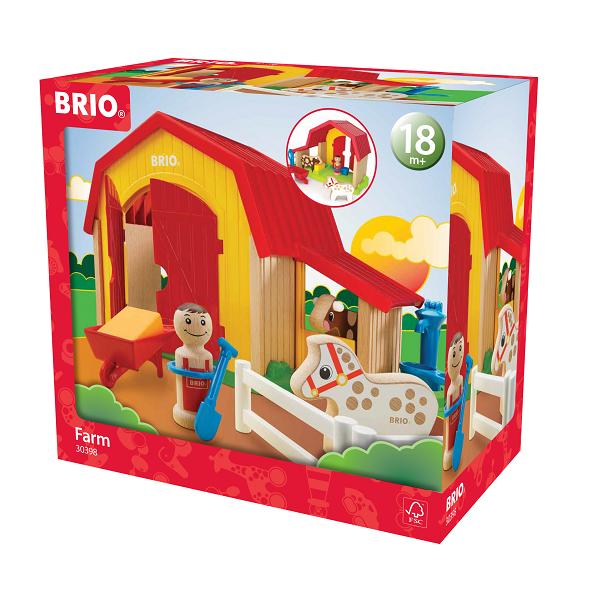 Bondegård - 30398 - BRIO