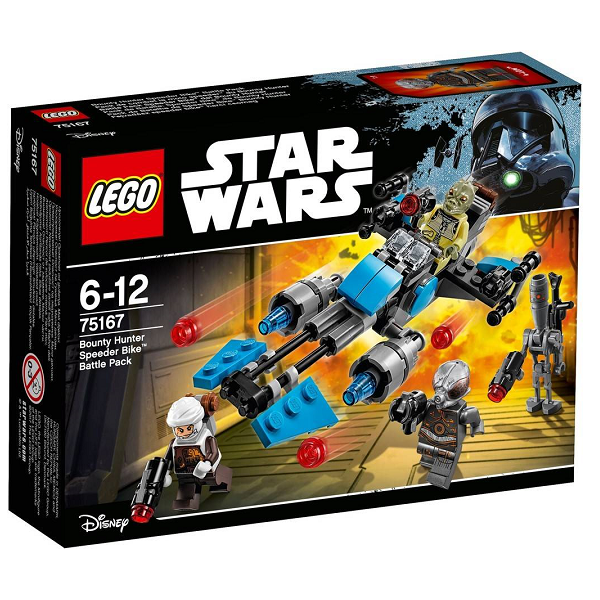 Image of Bounty Hunter Speederbike Battle Pack - 75167 - LEGO Star Wars (75167)