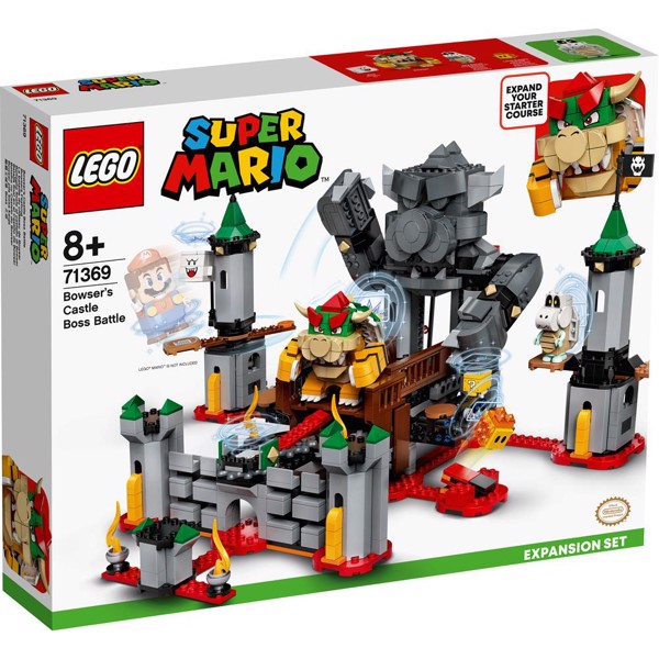 Image of Bowsers slot - bosskamp - udvidelsessæt - 71369 - LEGO Super Mario (71369)