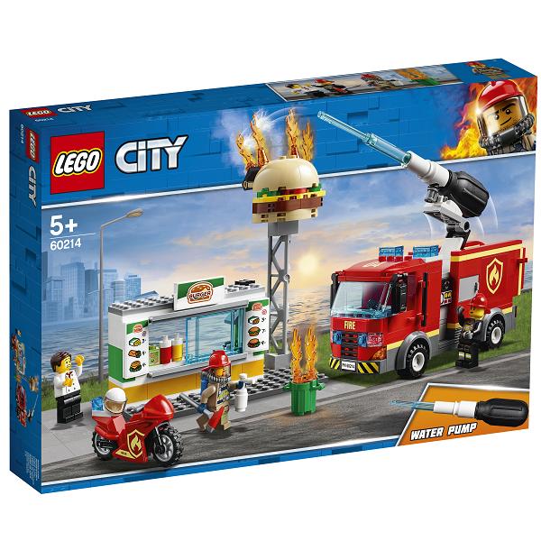 Image of Brand på burgerbaren - 60214 - LEGO City (60214)