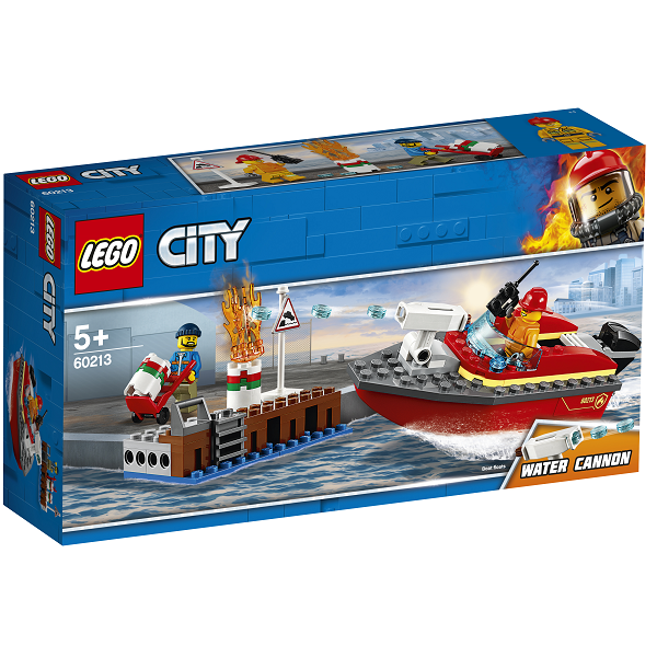Image of   Brand på havnen - 60213 - LEGO City