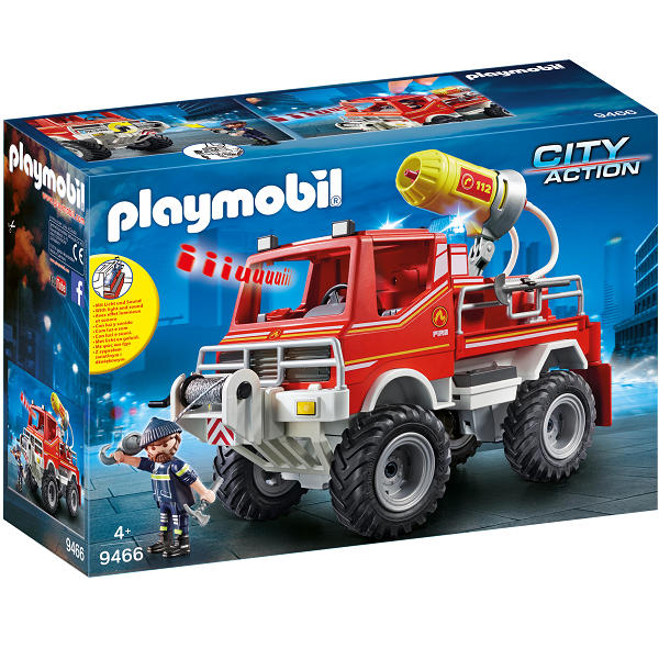 Image of   Brandbil - 9466 - PLAYMOBIL City Action