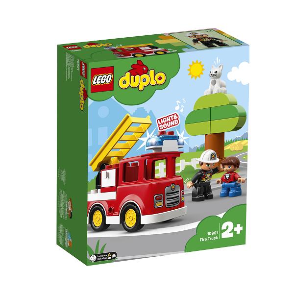 Image of Brandbil - 10901 - LEGO DUPLO (10901)
