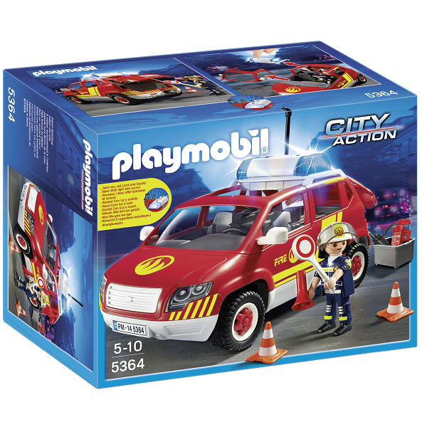 Image of Brandchefens bil - 5364 - PLAYMOBIL City Action (PL5364)