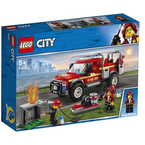 Image of Brandchefens pionervogn - 60231 - LEGO City (60231)