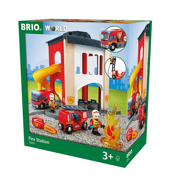 Brandstation - 33833 - BRIO Tog-tilbehør