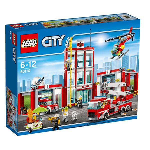 Image of   Brandstation - 60110 - LEGO City