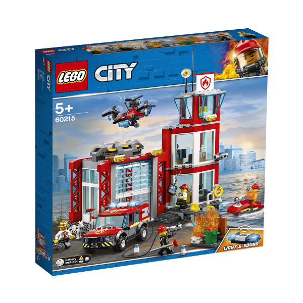 Image of   Brandstation - 60215 - LEGO City