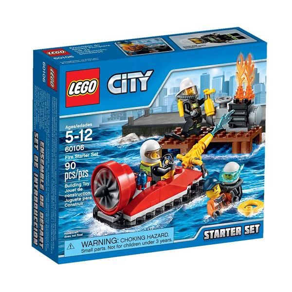 Image of Brandvæsen Startsæt - 60106 - LEGO City (60106)