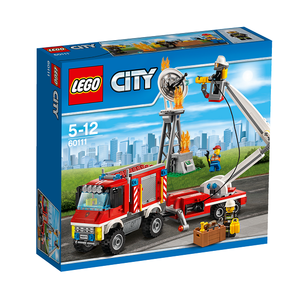 Image of   Brandvæsnets universalkøretøj - 60111 - LEGO City