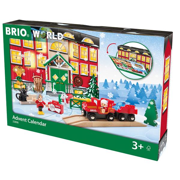BRIO julekalender 2018 - BRIO Tog