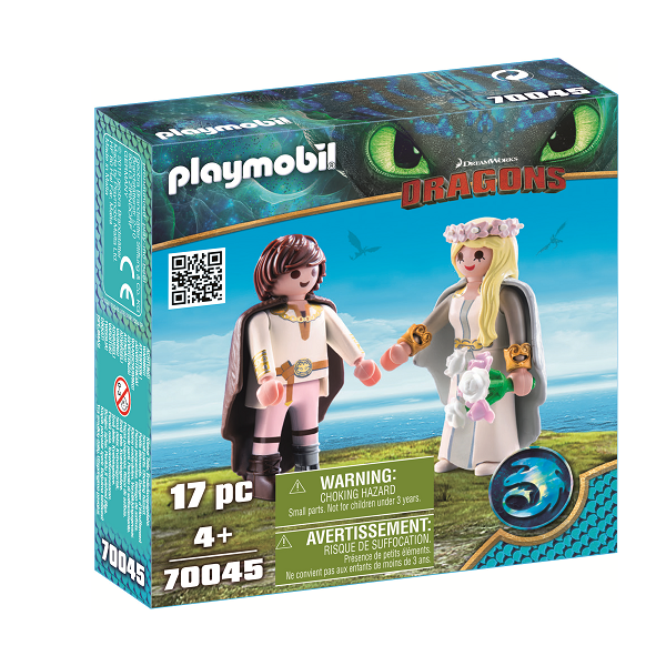 Image of Bryllupspar - PL70045 - PLAYMOBIL Dragons (PL70045)