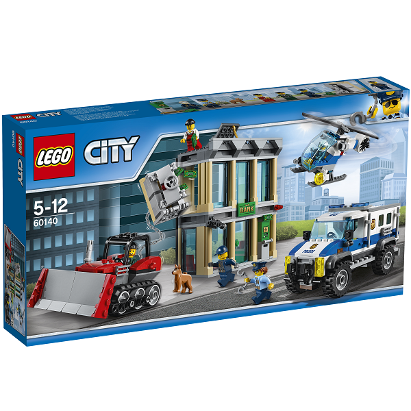 Image of   Bulldozer-indbrud - 60140 - LEGO City