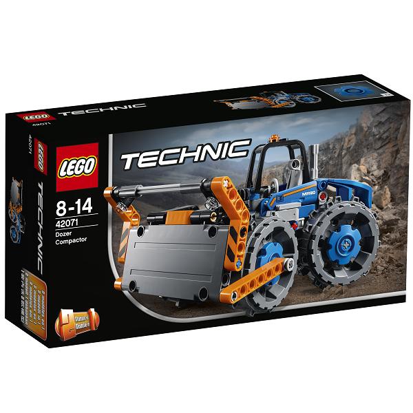 Image of Bulldozer med trykplade - 42071 - LEGO Technic (42071)