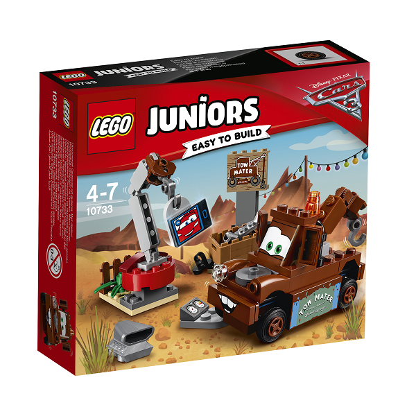Image of Bumles skrotplads - 10733 - LEGO Juniors (10733)
