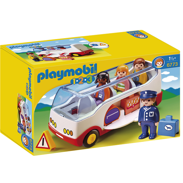 Image of Bus - 6773 - PLAYMOBIL 1.2.3 (PL6773)