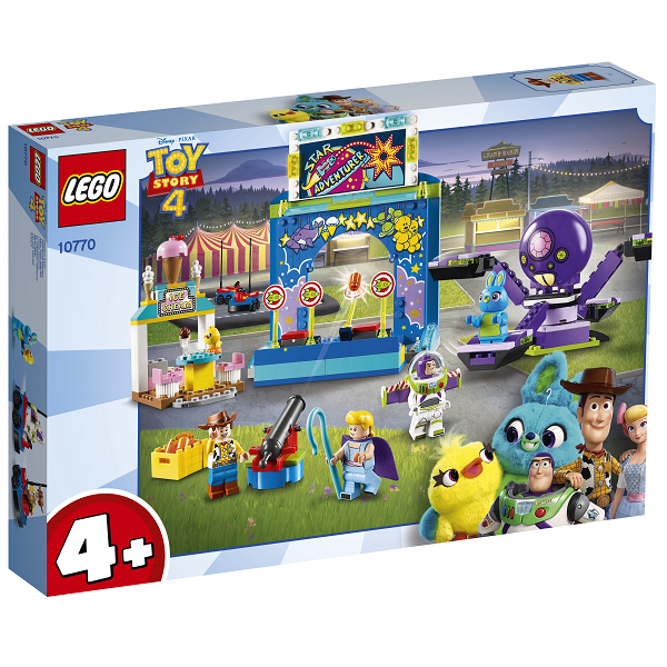 Image of Buzz og Woodys vilde tivolitur! - 10770 - LEGO Toy Story 4 (10770)