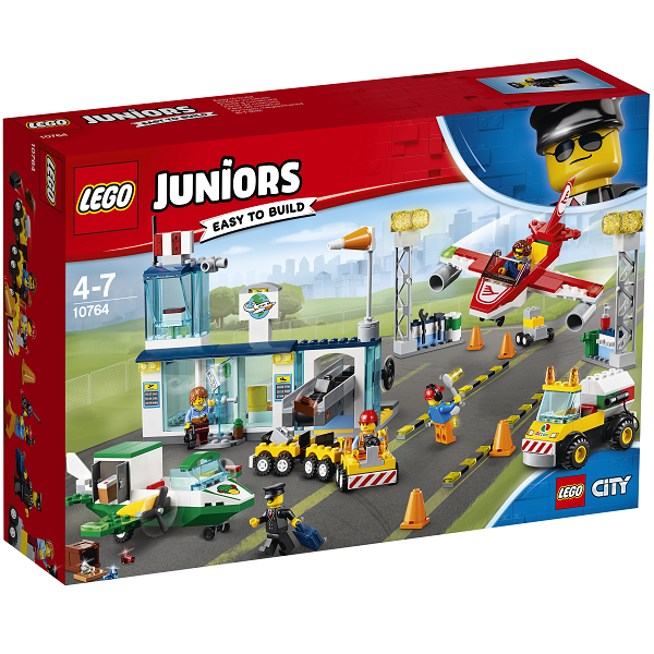 Image of Byens centrale lufthavn - 10764 - LEGO Juniors (10764)