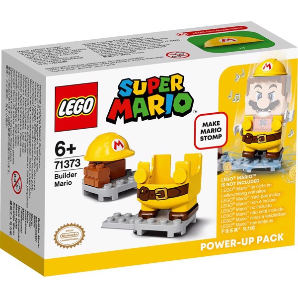 Image of Bygge-Mario powerpakke - 71373 - LEGO Super Mario (71373)
