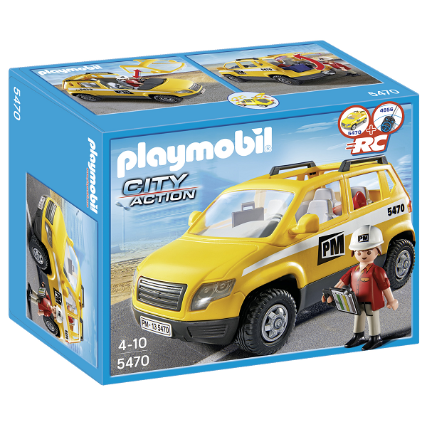 Image of Byggelederbil - 5470 - PLAYMOBIL City Action (PL5470)