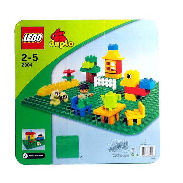 Image of Byggeplade , stor - 2304 - DUPLO Bricks &More (2304)