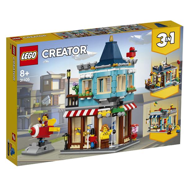 Image of Byhus med legetøjsbutik - 31105 - LEGO Creator (31105)