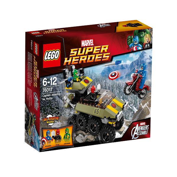 Captain America mod Hydra - 76017 - LEGO Super Heroes