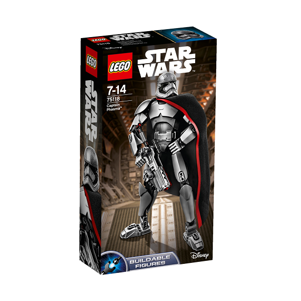Kaptajn Phasma - 75118 - LEGO Star Wars