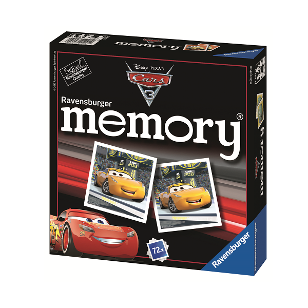 Image of   Cars 3 Memory - Fun & Games